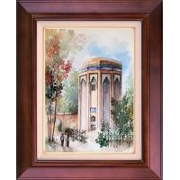 تابلو نقاشی آرامگاه